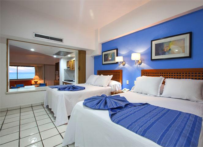 Habitacion costa oro hotel