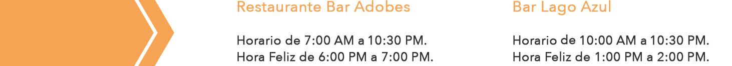 horario restaurante